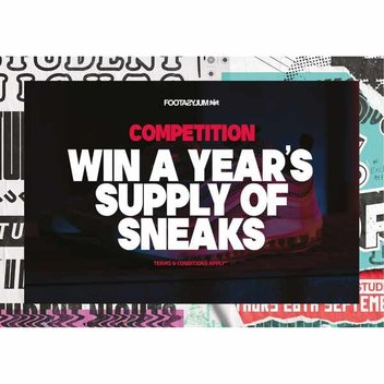 Win a year's supply of sneakers