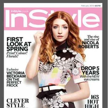 Free issue of InStyle magazine