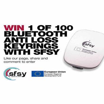 100 free Bluetooth Anti loss keyrings