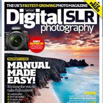 Free issue of photography magazine