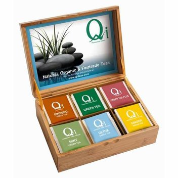 Try out a selection of Qi Teas