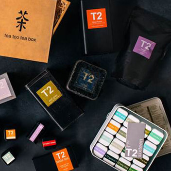 Get a free 'For the Love of Tea' Gift Box from T2 Tea