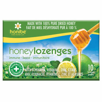 100 free Honibe honey lozenges
