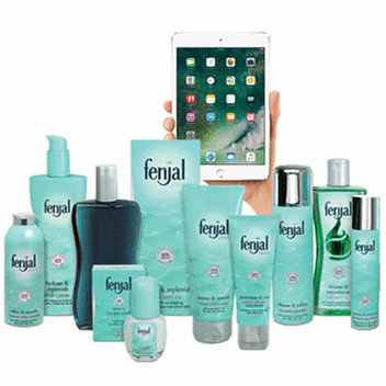 Win an Apple iPad mini 4 & Fenjal Gift Box