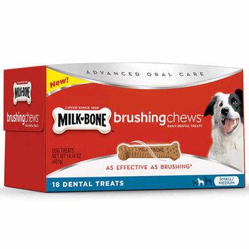 Free 3-Pack Milk-Bone Brushing Chews sample