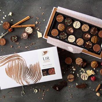 Win one of five bundles of Lir chocolate