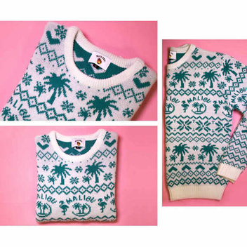 Claim a free Malibu Christmas jumper