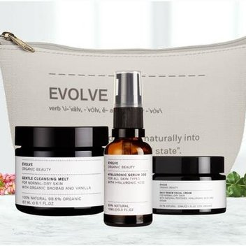 Pamper your complexion with Evolve Organic Beauty treats