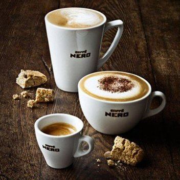 Claim a complimentary drink from Caffè Nero