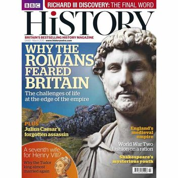 Free issue of BBC History Magazine