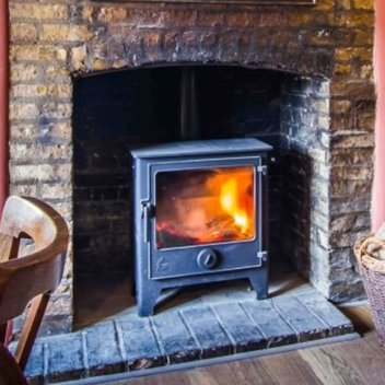 Get a stylish gas fire stove worth £1,350