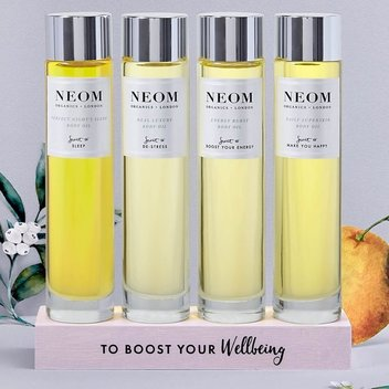 Win a Great Day with new Neom Organics Body Oil