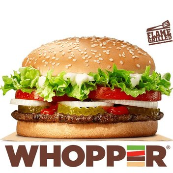 Enjoy a free Whopper Sandwich from Burger King