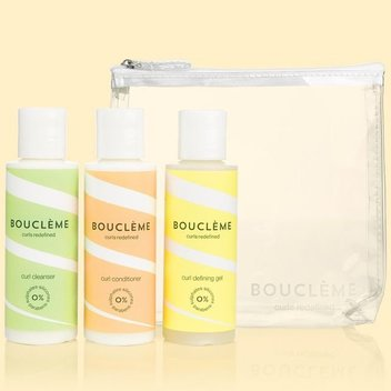 10 Bouclème haircare travel sets on giveaway