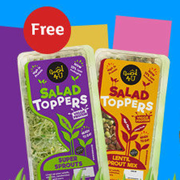 Try Good4U Salad Toppers for free