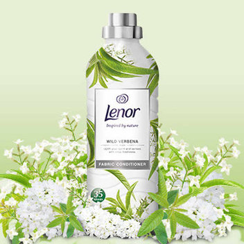 150 free bottles of Lenor Inspired by Nature Wild Verbena