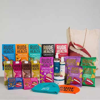 Take home a free bundle of Rude Health & REN Clean Skincare goodies