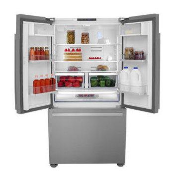 Upgrade your kitchen with a free Beko American-style Fridge Freezer