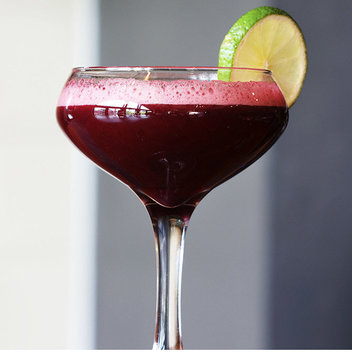Sip on a complimentary Pomegranate Daiquiri