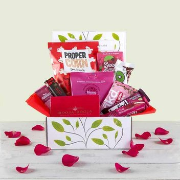 3 free Love Chocolate & Snack Hampers