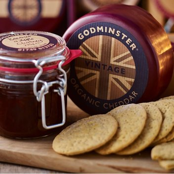 Munch on a free hamper of Godminster cheese & goodies