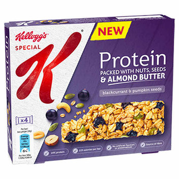 Sample Kellogs Special K Protein Bars for free
