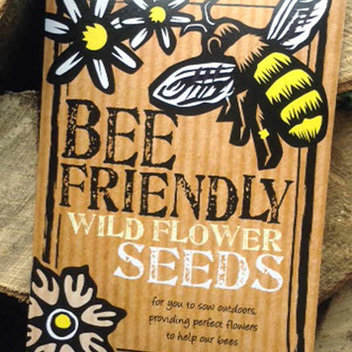 Free packs of Bee Seeds