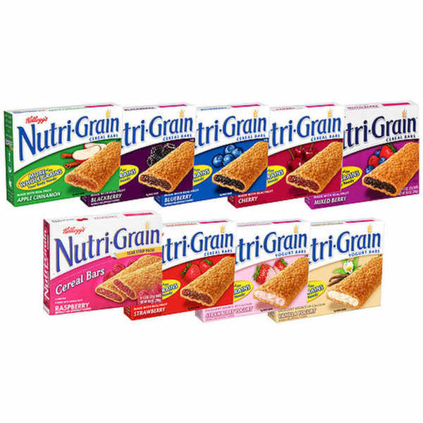 Free cases of Kelloggs Nutri Grain Bars