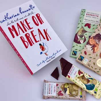 Get a new book & a selection of Swiss chocolates
