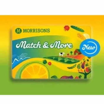 Free Morrisons Match and More Card