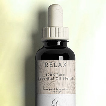 Free Relax Essential Oil samples