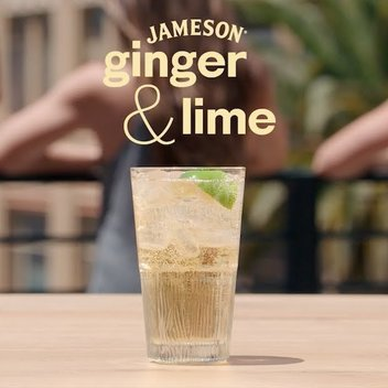 Enjoy a complimentary Jameson Ginger & Lime