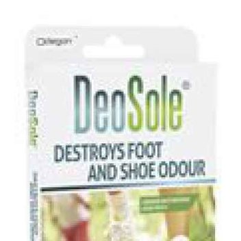 Free Deodorant patches for your shoes