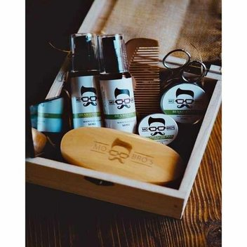 Win a year's supply of Mo Bro's grooming products