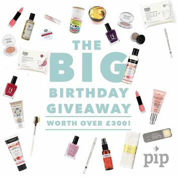 Pip Box Big Birthday Beauty giveaway