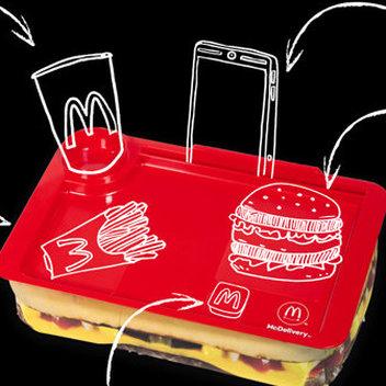 Free McDonald's Food Tray