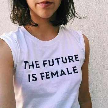 Free 'Future is Female' tees