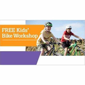Free Kids Bike Workshops and goodie bag