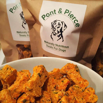 Free Pont & Pierce dog treats samples