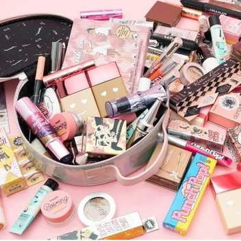Bag £300 worth of Benefit cosmetics
