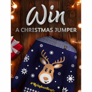 Free Christmas jumpers with McDonald's