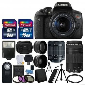 Get a Canon Rebel Kit Bundle & Apple Watch