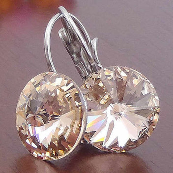 Free Swarovski Panache crystal earrings