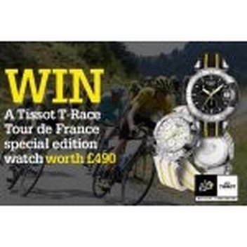 Win a Tissot T-Race Tour De France Special Edition Watch, worth £490