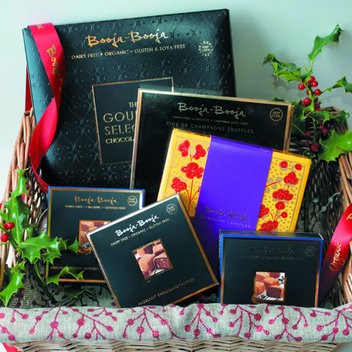 Spread some Chocolate Cheer with a free Booja-Booja truffle bundle