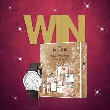 Win a Sekonda watch or Nuxe Beauty Treasures set
