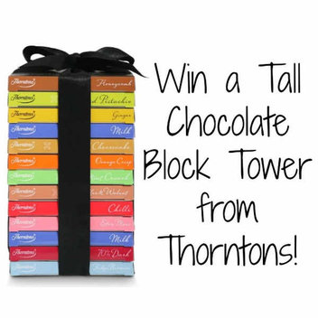 Win a Tall Chocolate Block Tower from Thorntons