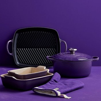 Win an Ultra Violet Le Creuset Cast Iron Casserole