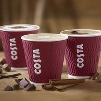 Claim free Coffee from Costa