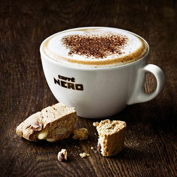 Warm up with a free hot drink from Caffè Nero